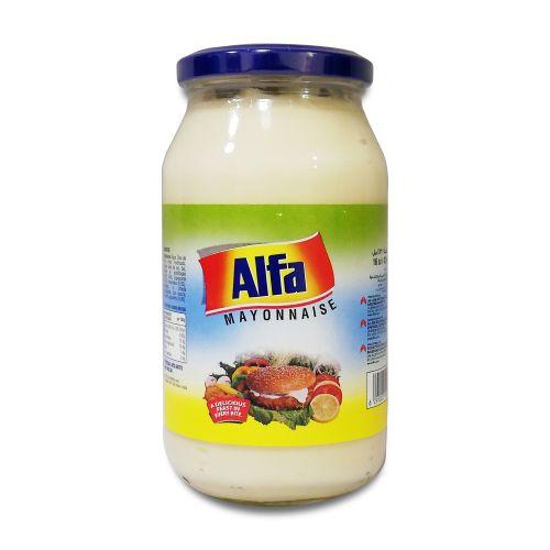 Alfa Mayonnaise Jar 473ml