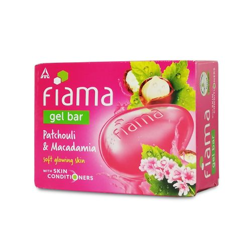 Fiama Patchouli and Macadamia Gel Bar 125g