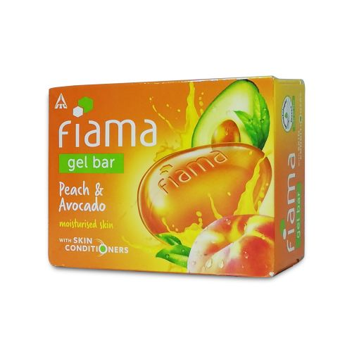 Fiama Peach and Avocado Gel Bar 125g
