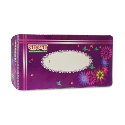 Bangla Perfumed Facial Tissue Box 120 Pcs x 2ply = 240 Sheets