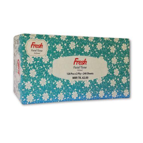 Fresh Facial Tissue Perfumed 120 Pcs x 2 Ply = 240 Sheets