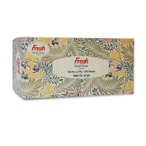 Fresh Facial Tissue Perfumed 100 Pcs x 2 Ply = 200 Sheets