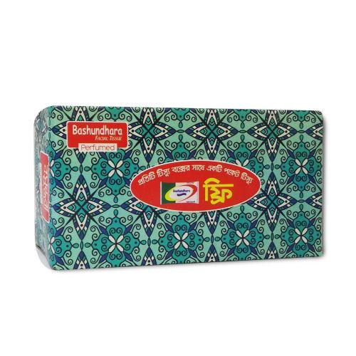 Bashundhara Perfumed FaciaI Tissue Paper 120x2 Ply