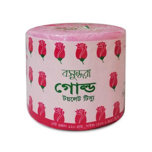 Bashundhara Toilet Tissue Paper Roll - Gold