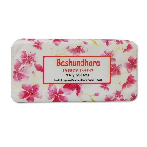 Bashundhara Paper Towel Tissue Paper 250x1 Ply