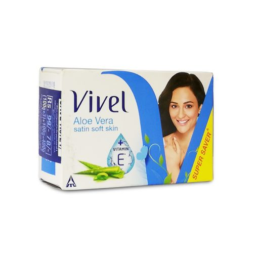Vivel Satin Soft Skin Aloe Vera Bar Soap 400g