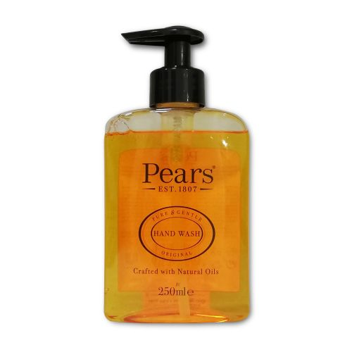 Pears Hand Wash Pure & Gentle Original with Natural Oils 250ml