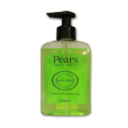 Pears Hand Wash Pure & Gentle with Lemon Flower Extract Natural Oils 250ml