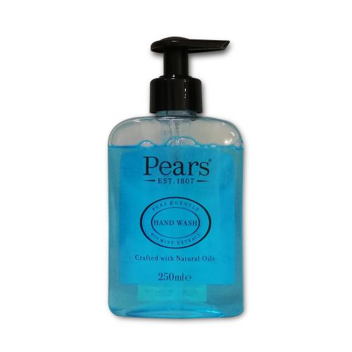 Pears Hand Wash Pure & Gentle with Mint Extract Natural Oils 250ml
