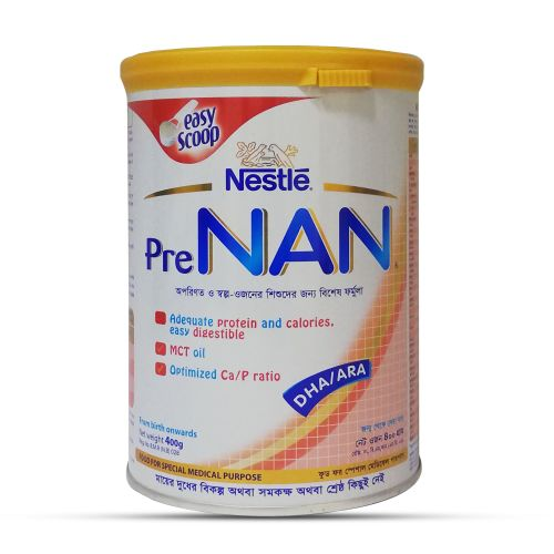 Nestle Pre NAN Preterm & Low Birth Weight Infant Tin 400g