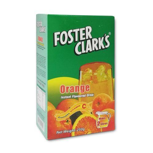 Foster Clarks Instant Flavoured Orange Drink 250g