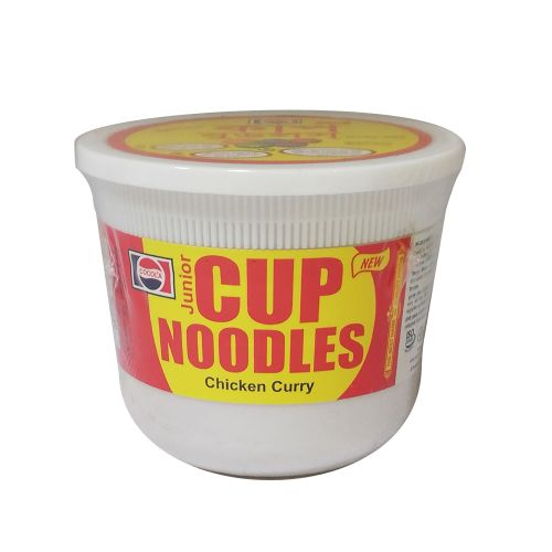 Cocola Junior Chicken Curry Cup Noodles 40g