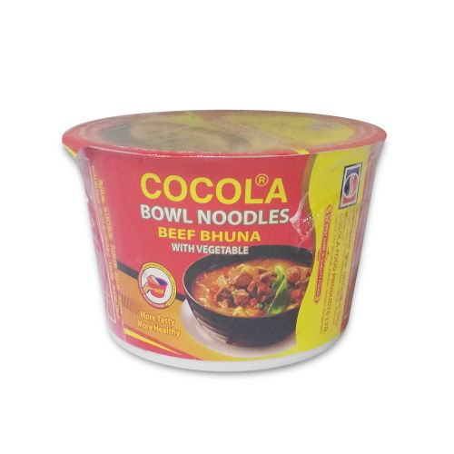 Cocola Beef Bhuna with Vegetable Bowl Noodles 70g