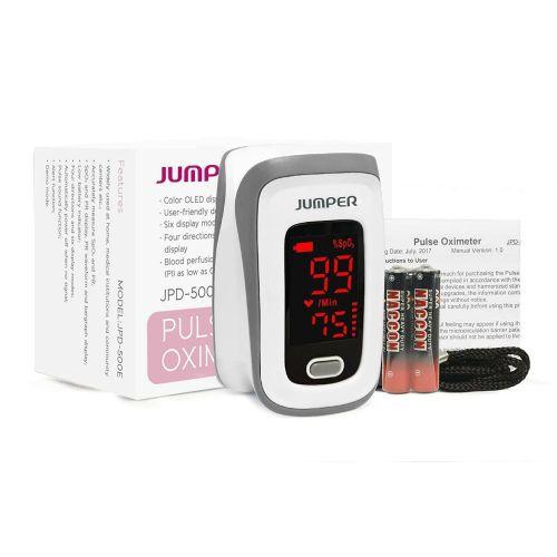 Jumper  Fingertip Pulse Oximeter for Oxygen Level & Pulse (JPD-500E LED)