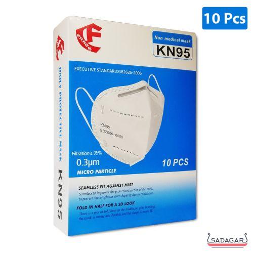 CF KN95 Disposable Protective Non Medical Mask Single / 10pcs