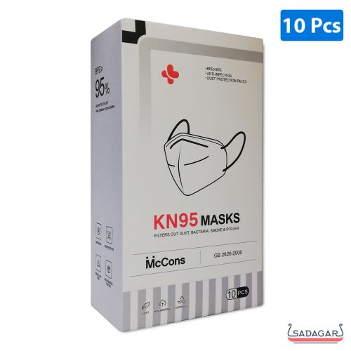 McCons KN95 Protective Face Mask Single / 10pcs
