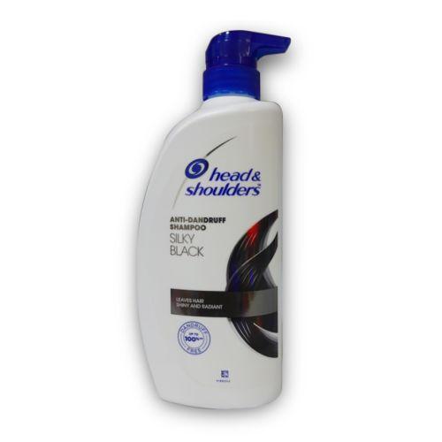 Head & Shoulders Silk Black Anti-Dandruff Shampoo 650ml