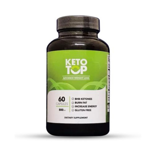 Keto TOP Advanced Keto Weight Loss Supplement 60 Capsules