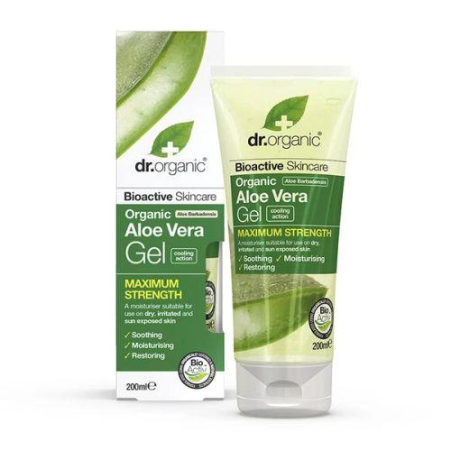 Dr Organic Aloe Vera Gel Maximum Strength 200ml