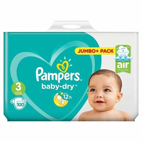 Pampers Baby-Dry Pants Nappy Pants Diaper - Size 3 - 50 pcs / 100 pcs Jumbo Pack