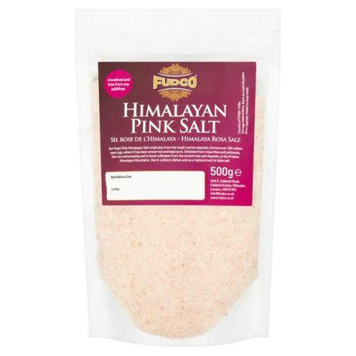 Fudco Himalayan Pink Salt 500g