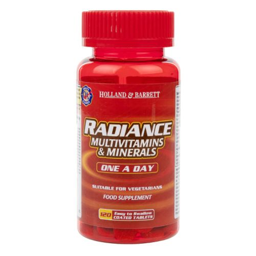 Holland & Barrett Radiance Multi Vitamins & Minerals One a Day 120 Tablets