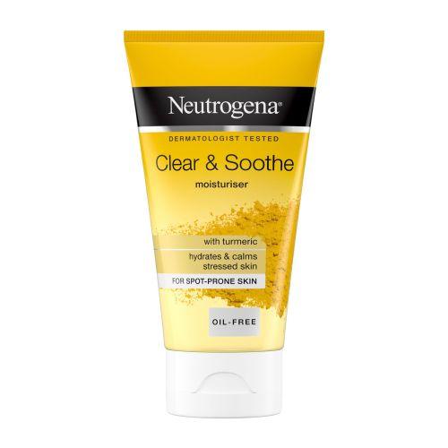 Neutrogena Clear & Soothe Oil-Free Gel Moisturiser 75ml