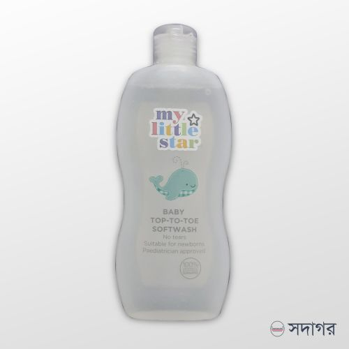 Superdrug My Little Star Baby Top-To-Toe Softwash 300ml