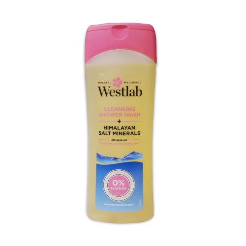 Westlab Cleansing Shower Wash Himalayan Salt Minerals 400ml