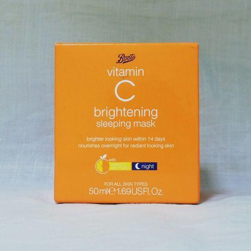 Boots Vitamin C Brightening Sleeping Mask 50ml
