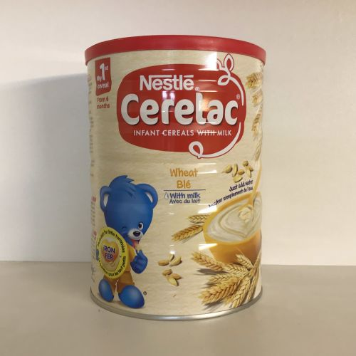 Nestle Cerelac Wheat with Milk Infant Cereal 1kg, 6 months+