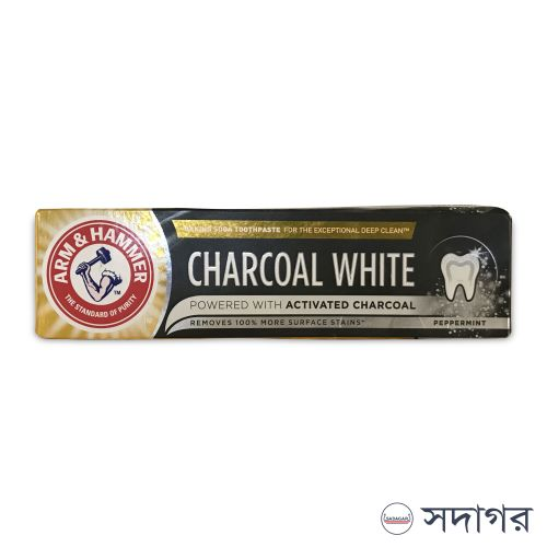 Arm & Hammer Charcoal White Natural Toothpaste 75ml