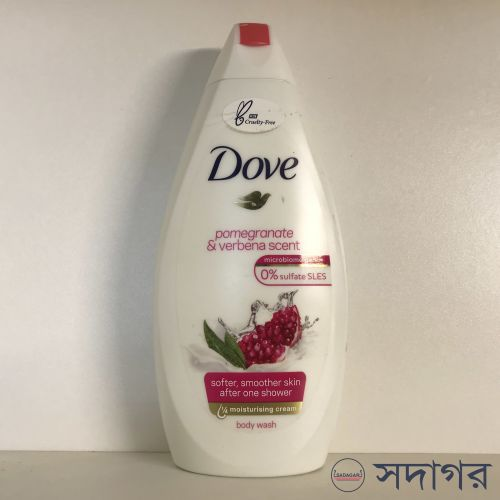 Dove Pomegranate and Lemon Verbena Body Wash 450ml