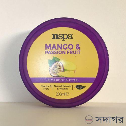 Nspa Mango & Passion Fruit Rich Body Butter 200ml