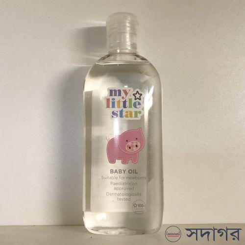 Superdrug My Little Star Baby Oil 250ml