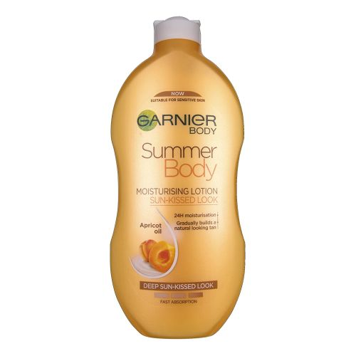 Garnier Body Summer Body Apricot Oil Moisturising Lotion 400ml