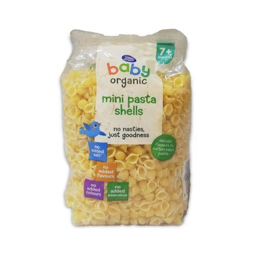 Boots Baby Organic Mini Pasta Shells 250g