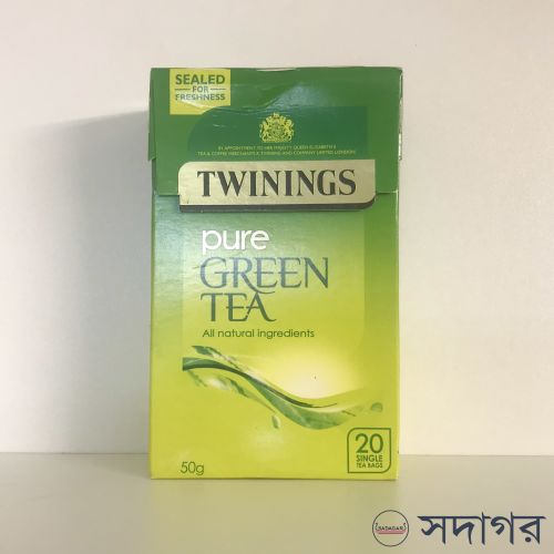Twinings Pure Green 20 Tea Bags 50g