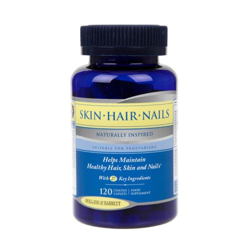 Holland & Barrett Skin Hair & Nails Formula 120 Caplets