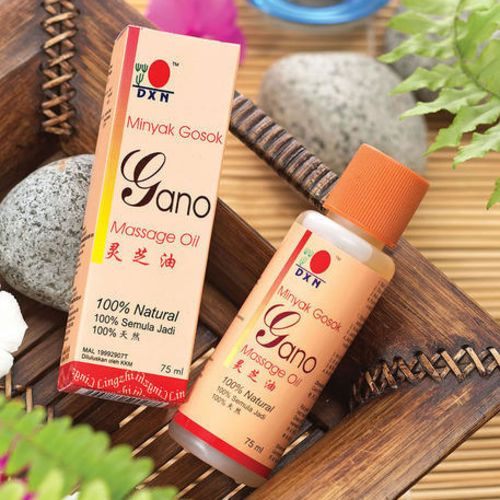 DXN Gano massage oil (75 ml) for relaxing and relieving pain