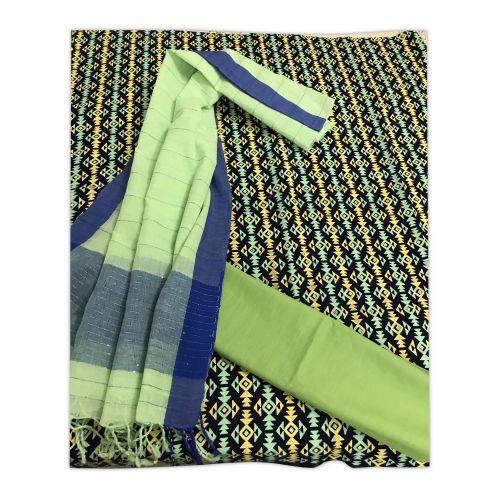 Beautiful Three pcs ( 3 pcs) Swiss Cotton Fabric