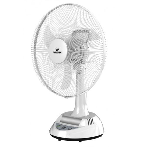 Walton Rechargeable Fan W17OA-MS (Stand-White, Base-White)