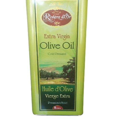 Riviere D'or Extra Virgin Olive Oil(TIN)-5 Litre
