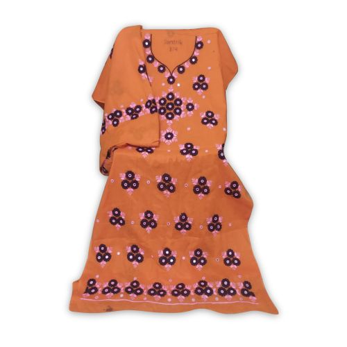 Fashionable Cotton 2 Piece Dress