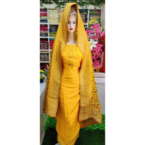 Viscose Georgette Fashionable 3 Piece Set