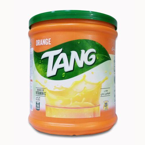 Tang Orange Flavor Instant Drink Mix Jar 2.5 Kg