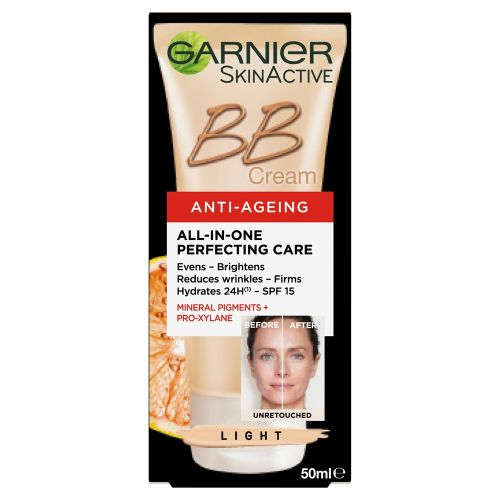 Garnier BB Cream Anti Ageing Light Tinted Moisturiser 50ml