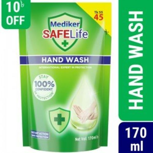 Mediker Safelife Handwash Refill 170ml