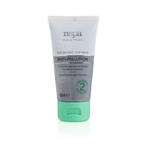 Nspa Anti Pollution Skin Defence Clay Mask 50ml