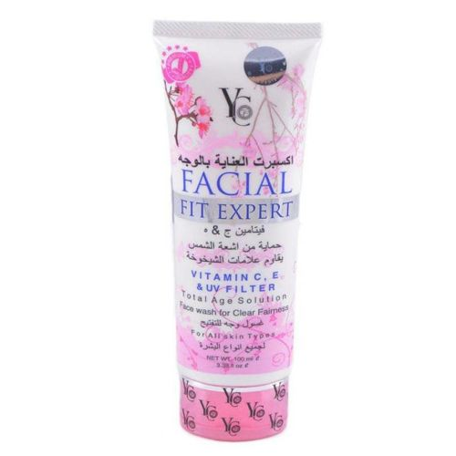 YC Facial Fit Expert Total Age Solution Face Wash 100ml